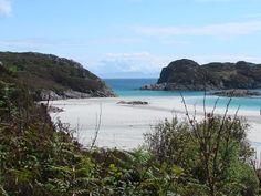 Traigh Ghael Beach on the Isle of Mull, Scotland
