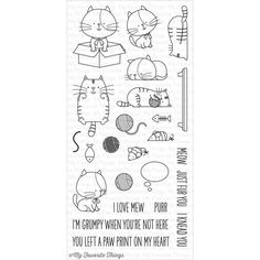 My Favourite Things Stamp Set - I Knead You