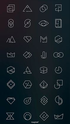 Find tips and tricks, amazing ideas for Minimal logo. Discover and try out new things about Minimal logo site Minimal Logo Design, Business Logo Design, Branding Design, Logo Design Trends, Best Logo Design, Abstract Logo, Geometric Logo, Geometric Shapes, Logo Inspiration