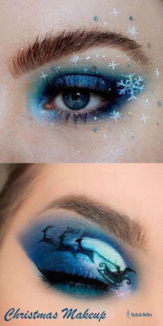 #EyeMakeupGlitter Eye Makeup Blue, Eye Makeup Glitter, Dramatic Eye Makeup, Hooded Eye Makeup, Eye Makeup Art, Colorful Eye Makeup, Natural Eye Makeup, Smokey Eye Makeup, Exotic Eye Makeup
