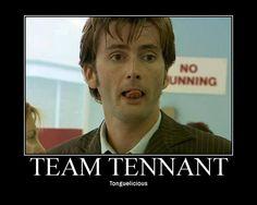 Tennant Tuesday Tongue spam again!
