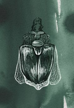 Piet Boon Styling by Karin Meyn | Green illustrated beetle