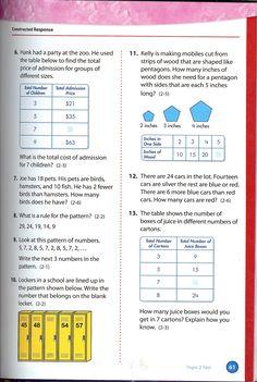 envision math grade 4 topic 2 4 quick check envision 4th grade rh pinterest com Envision Math Workbook Answers Envision Math 4th Grade