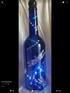 Jo's crafty glass