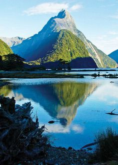 Milford Sound,New Zealand @Style Space & Stuff Blog Mcfadden