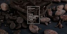 Typographic Chocolate is a student project of the University of Applied Sciences Berlin, Department of Communication Design, under the direction of Prof. The aim of the course was to create a product with typographic reference for the Museum Chocolates, University Of Applied Sciences, Art Web, Science Student, Chocolate Packaging, Communication Design, Delicious Chocolate, Chocolate Bars, Packaging Design Inspiration