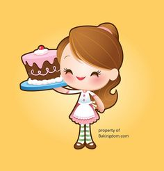 "Vector Illustration – ""Kawaii Bakingdom Character"" by Jerrod Maruyama – VECTORVAULT - Your Imagination Is The Combination Kawaii Chibi, Cute Chibi, Kawaii Art, Kawaii Anime, Kawaii Disney, Cute Disney, Kawaii Crush, Cute Clipart, Kawaii Shop"