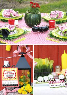 Picnic Parade Theme - Do-it-yourself PRINTABLES - Full Collection