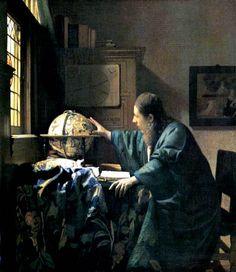 Jan Vermeer van Delft - El Astrónomo