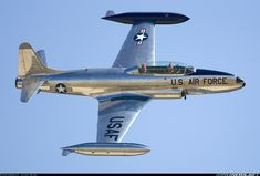 Lockheed T-33 Shooting. I worked on these at Edwards AFB as an Aircraft Electrical Repairman. 6515th FMS