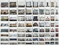 Typology of Reykjavik buildings. Photography by Ólafur Elíasson.