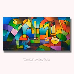 Abstract Geometric Modern Art Original Abstract Acrylic Painting, large wall art, abstract landscape painting, Made-To-Order Geometric Painting, Abstract Landscape Painting, Geometric Art, Landscape Paintings, Abstract Paintings, Modern Art Paintings, Small Paintings, Original Paintings, Canvas Art