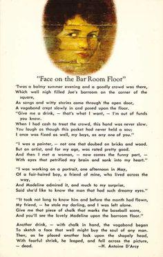 Superior Face On The Barroom Floor Teller House Bar Colorado Postcard | Places On  Postcards | Pinterest | House Bar