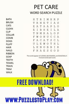 Printable Puzzles, Crossword Puzzles, Free Printable Worksheets, Printable Coloring, Free Word Search Puzzles, Word Search Games, Word Games, Puzzle Games, Puzzle Books