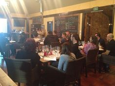 The Miramonte crew getting their wine education on!