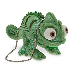 Pascal Plush Purse - Tangled.  perfect addition to rapunzel dress, since it has no pockets!
