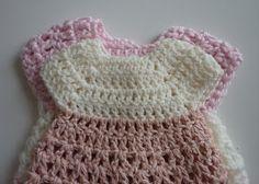 Mamma That Makes: Davida Gown - Free Crochet Pattern Crochet Baby Dress Free Pattern, Crochet Doll Dress, Crochet Barbie Clothes, Baby Girl Crochet, Crochet Patterns, Baby Patterns, Kids Crochet, Crochet Quilt, Preemie Crochet