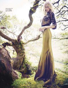 Idina Moncreiffe for Tatler, November 2013 by James Meakin
