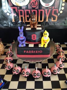 Five Nights At Freddy's on Cake Central