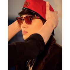 Chanyeol, Chen, Kai, Kpop Groups, Rapper, Captain Hat, Mens Sunglasses, Gucci, Actors