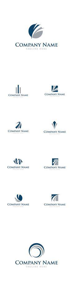 Vector Abstract Business Finance Logos