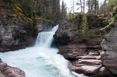 As the snow melts away in Glacier National Park...