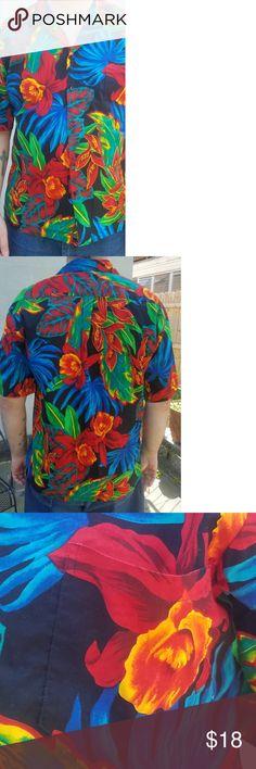24f408f3 I just added this listing on Poshmark: Vintage Hilo Hattie Hawaiian Shirt  Men's XL.