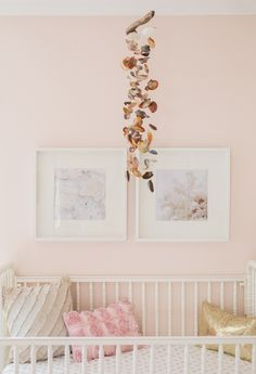Inspired by This Girly Sea Inspired Nursery by Vitalic Photo Love the mobile.