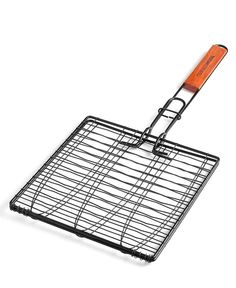 Charcoal Companion Non-Stick Triple Fish Grilling Basket - Availability: in stock - Price: £10.00