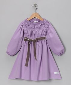 Lavender Stella Dress - Toddler & Girls