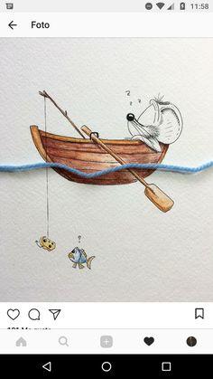 Cute Animal Drawings, Cute Drawings, Pencil Drawings, Cartoon Sketches, Cartoon Art, Decoupage Vintage, Bullet Art, Found Object Art, Cute Illustration