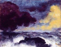 Emil Nolde: Bewegtes Meer Kunsthalle zu Kiel