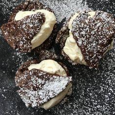 Cookie Desserts, Fun Desserts, Delicious Desserts, Best Dessert Recipes, Sweet Recipes, Bagan, Marzipan, Donuts, Swedish Recipes
