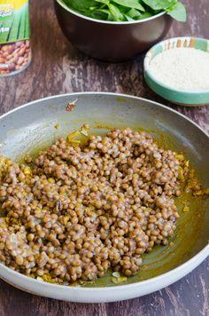 Chiftelute cu linte si spanac - Din secretele bucătăriei chinezești Tahini, Beans, Vegetables, Food, Salads, Essen, Vegetable Recipes, Meals, Yemek