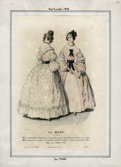 September 1836 La Mode.