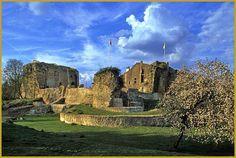 Château de Moyen, dit ''château de Qui-qu'en-grogne'', Meurhe-et-Moselle. Lorraine