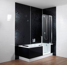 bad douche combinatie - zodat er ruimte is om te ontspannen, maar ook ...