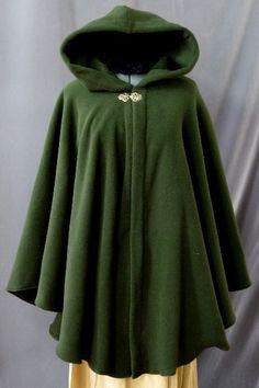 green cloak