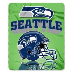- 100% polyester fleece throw - Can be rolled or folded into a compact size - Measures 50-in x 60-in - Adorned with the team logo and colors