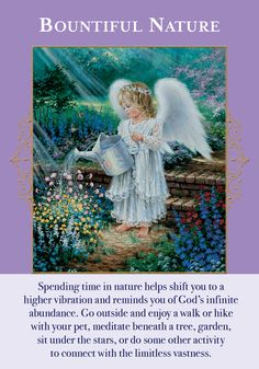 Oracle Card Bountiful Nature | Doreen Virtue - Official Angel Therapy Website