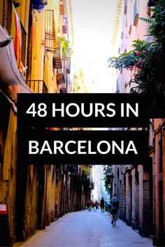 My Guide to 48 Hours in Barcelona! Click through to read more on my travel blog :)