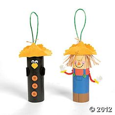 Pringles Can Scarecrow | Scarecrows, Homemade things and Craft