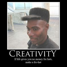 This isn't exactly our sense of creativity, but none the less, it is funny!