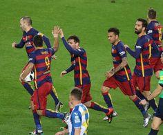 Barça 4- Espanyol 1