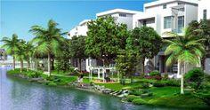 Biệt thự ven sông long Hưng City