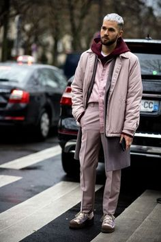 The slickest men's street style at Paris Fashion Week Women's AW17