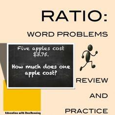 Ratio: Word Problems