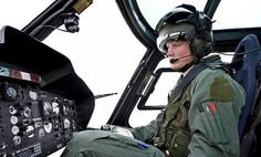 Why do helicopter pilots sit in the right seat?