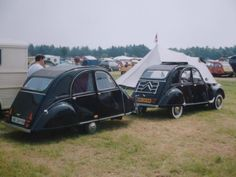2cv remorque Citroen Car, Car Carrier, Trailer Build, Travel Trailers, Go Camping, Motorhome, Truck, France, Building