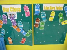 Morning greeting and calendar and weather time in preschool